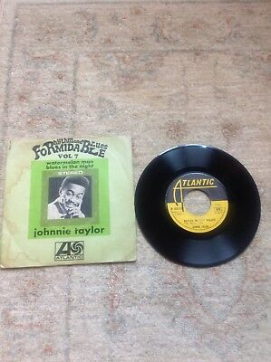 Northern Soul- Johnnie Taylor -Blues In The Night - Massive- V Rare- Original