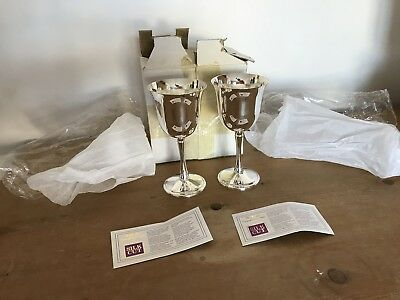 Vintage Silver Goblet/Wine Cups by Silk Cut