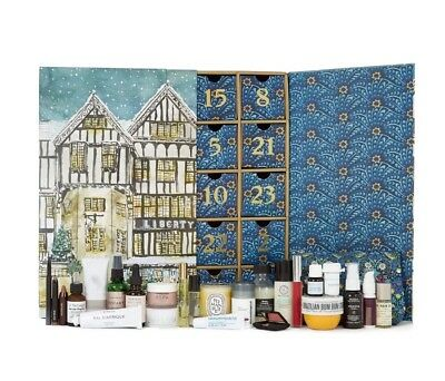 LIBERTY LONDON BEAUTY ADVENT CALENDAR Brand New Worth £499 Christmas 2017