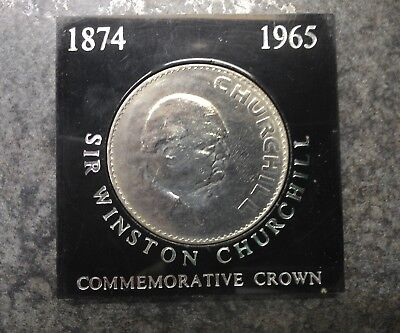 Winston Churchill Commemorative Crown (1965)