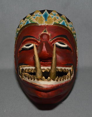 Topèng, dance mask Buta Cakil - Central Java, Indonesia - 1970s