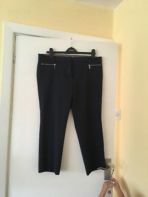 Marks And Spencer's Work Trousers Size 16 Petite