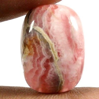 17.15 cts Natural Untreated Top Quality Rhodochrosite Cabochon Octagon Gemstone