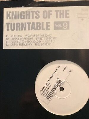 Knights Of The Turntable Vol 9 Shades Of Rhythm /West Ban/PBT:Dresm Frequency