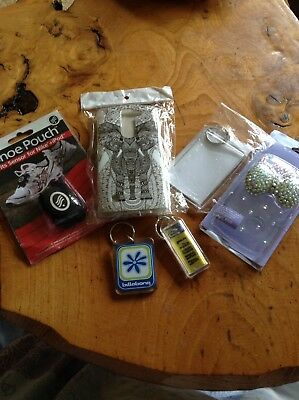 Small Lot Of Phone Cases Keyrings Ect