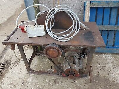 Bamfords Saw Bench 3 phase log saw circular saw 24""