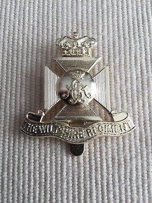 The Wiltshire Regiment Anodised Cap Badge Badge - Great Example