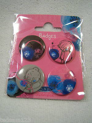 Me To You -  ' Sketchbook - Button Badges X 4 '  -  Brand New  -  Sale!!