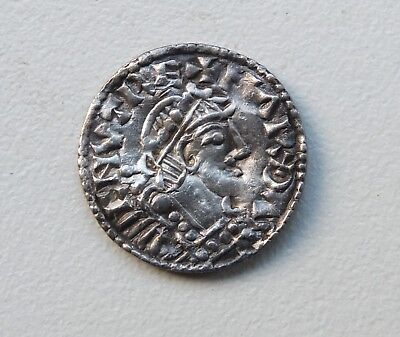 Extremaly Rare Penny Harthacnut (1035-1042) Winchester / Spileman