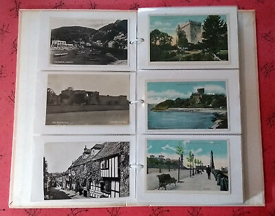 UK Topo Collection, 120 Postcards, 1900s - c.1960s, Most Earlier, in an Album