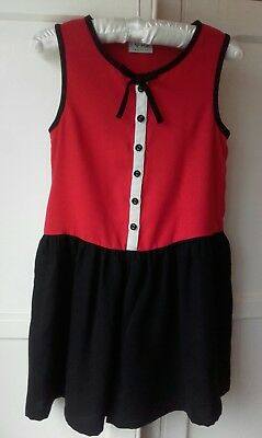 Next girls party playsuit age 9