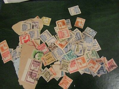Collection Of Old Stamps From Palestine