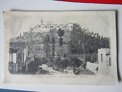 Old Postcard Of Firenze Italy