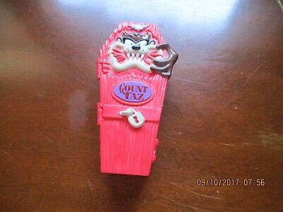 Russell Stover Taz Plastic Coffin