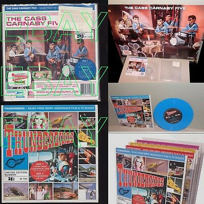 RARE Gerry Anderson THUNDERBIRDS Records LIMITED EDITION Lady Penelope PARKER