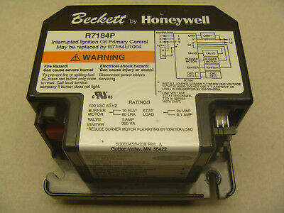 New R7184P  Primary control for BECKETT AFG  Oil Burner