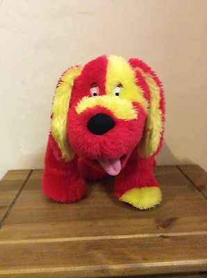 The Tweenies Dog Doodles Red & Yellow Soft Toy BBC Program