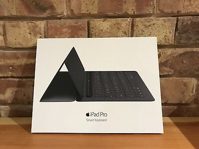"Genuine Apple Ipad Pro Smart Keyboard 12.9"" Black Boxed"