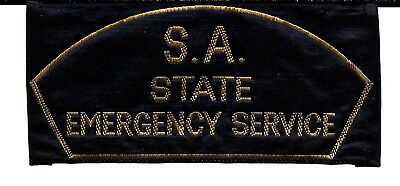 Old Style Obsolete South Australia Police Fire Search & Rescue Patch
