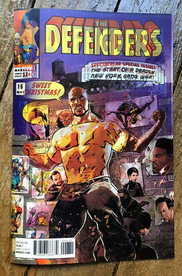 THE DEFENDER/THE AVENGERS. VO/US N°6 variant édtion LENTICULAIRE
