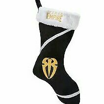 Roman Reigns holiday stocking NWT