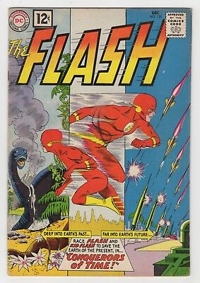 THE FLASH 125 (1961) - VG/F - Kid Flash appears!