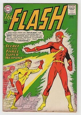 THE FLASH 135 (1963) - VG/F - 1st app. of Kid Flash's yellow costume