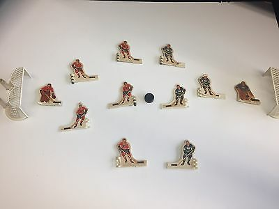 COLECO TABLE HOCKEY GAME NETS Flyers And Canucks Figures And Puck