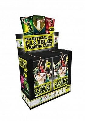 2015/16 Tap N Play - CA & BBL Sealed Cricket Box