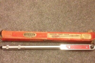 Britool Adjustable Torque Wrench Model No. EVT 1200RR