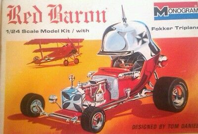 Monogram Tom Daniel Red Baron Collectors Set