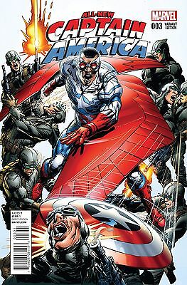 All-New Captain America #3 1:25 Neal Adams Variant (2015 Marvel Comics) NM