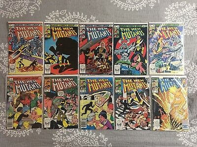 NEW MUTANTS LOT 2-100 (94 Books Total) VF/NM MOVIE COMING