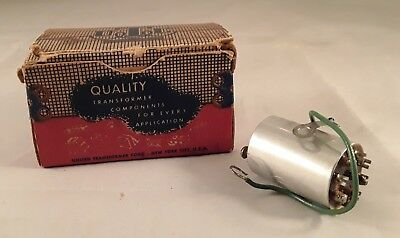 Vintage Quality Transformer In Original Box.