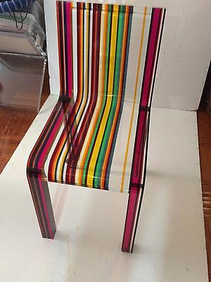 Very Rare Patrick Norguet RAINBOW chair made by Cappellini 21st century ICON