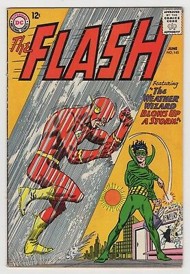 THE FLASH 145 (1964) - FINE Plus - Weather Wizard appears