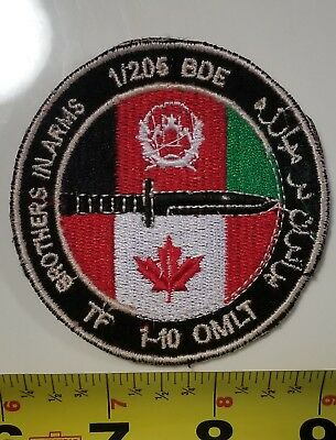 Canadian Forces TF 1-10 OMLT Roto Patch - Original