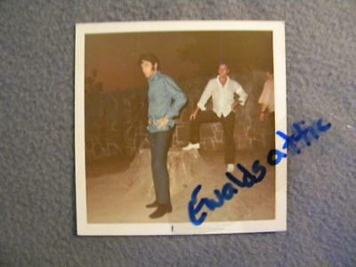 Vintage 1969 ELVIS PRESLEY Photo Original Color KODAK Snapshot d3