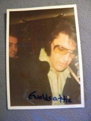 Vintage ELVIS PRESLEY Original 5X7 KODAK Color Photo Snapshot h3