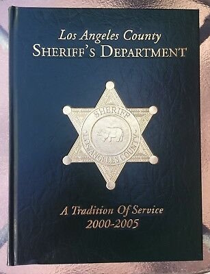 Los Angeles County Sheriff's Dept. LASD Collectible Yearbook