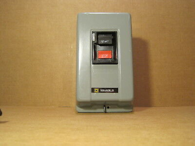 Square D   Nema Size M-0 And M-1  Class  2510   Manual Starter.see Pictures!