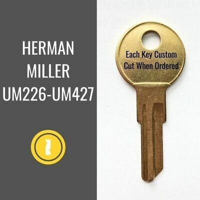 Replacement Herman Miller Furniture Key UM267 - Buy 2 or more to Save 20%