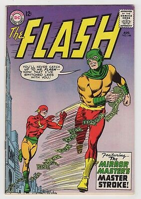 THE FLASH 146 (1964) - FINE Plus - Mirror Master appears