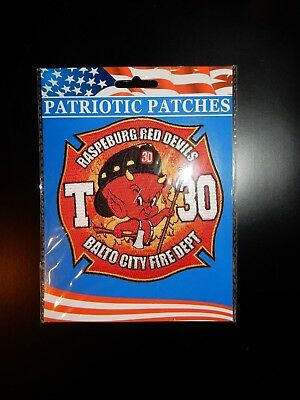 Baltimore City, Maryland Truck 30 Fire Dept. Patch