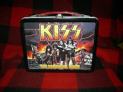 KISS Farewell tour Lunchbox  2000 MINT.