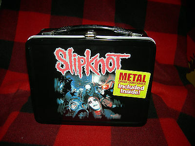Slipnot Lunchbox w/ thermos 2001 limited edition MINT.