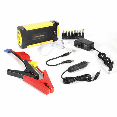 69800mAh Portable Car Jump Starter Pack Booster Battery Charger 4 USB Power Bank