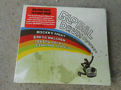 Global Drum Project-Mickey Hart-Grateful Dead-Cd-Hype-Factory Sealed-Brand New