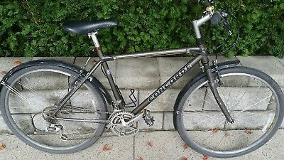 """19"""" Concorde True Grit vintage  mtb with Tange Struts fork and Shimano Deore XT"""