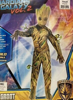 Baby Groot Child Small 4 Piece Costume